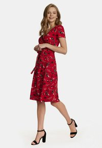 Vive Maria - RED PARADISE  - Jersey dress - rot allover - 1