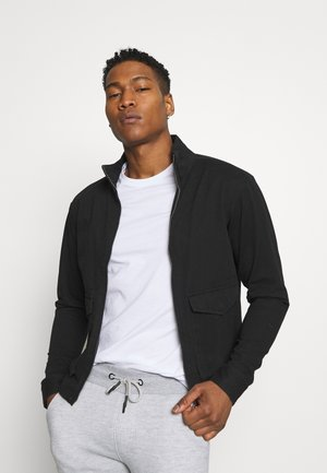 HUGH - Summer jacket - black