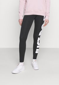 Nike Sportswear - Leggings - black/(white) - 0