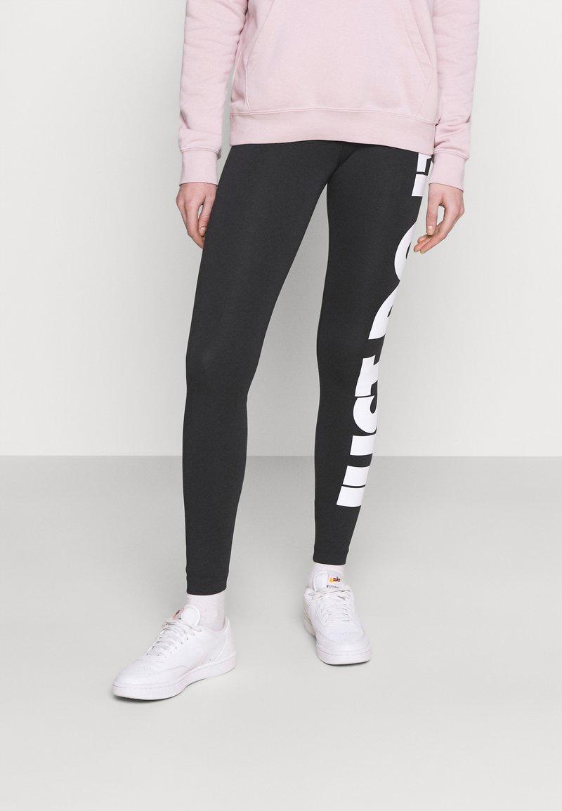 Nike Sportswear - Leggings - black/(white)