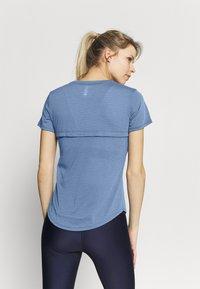 Under Armour - STREAKER - Camiseta básica - mineral blue - 2