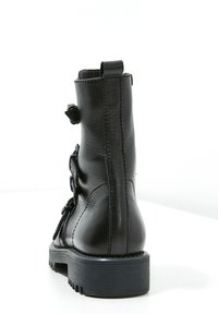 Inuovo - Cowboy/biker ankle boot - black blk - 4