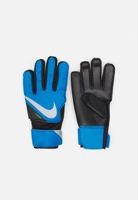 Nike Performance - GOALKEEPER MATCH UNISEX - Goalkeeping gloves - photo blue/black/silver - 0