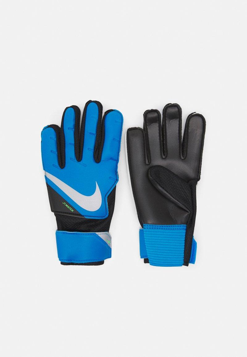 Nike Performance - GOALKEEPER MATCH UNISEX - Goalkeeping gloves - photo blue/black/silver