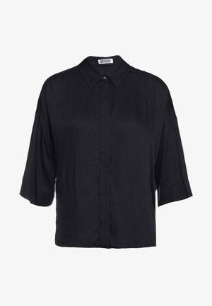 THERRY - Button-down blouse - black