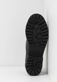 NAE Vegan Shoes - ALWIN - Šněrovací boty - black - 6