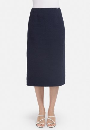 Pencil skirt - dunkel blau