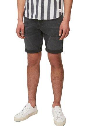 Denim shorts - multi/washed black