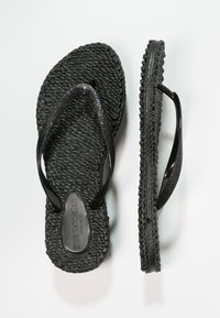 Ilse Jacobsen - CHEERFUL - Teenslippers - black - 1