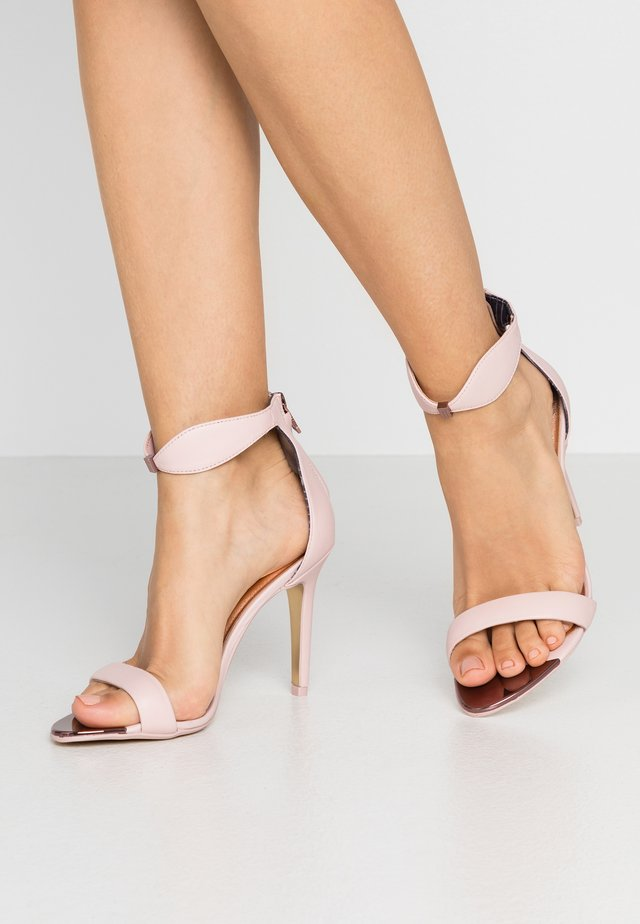 AURELIL - High heeled sandals - nude/pink