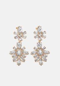 PCZANNY EARRINGS - Boucles d'oreilles - gold-coloured/clear