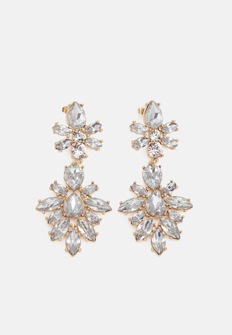 Pieces - PCZANNY EARRINGS - Boucles d'oreilles - gold-coloured/clear