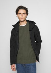 Jack & Jones - JJEPEARCE JACKET - Tunn jacka - black - 0