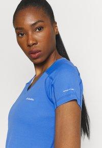 Columbia - RULES SHORT SLEEVE - T-shirt basic - harbor blue - 4