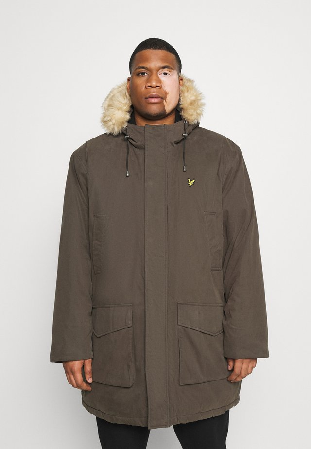 PLUS WINTER WEIGHT LINED - Parka - trek green