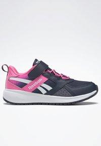 Reebok - ROAD SUPREME 2 ALT SHOES - Neutral running shoes - dark blue/pink - 10