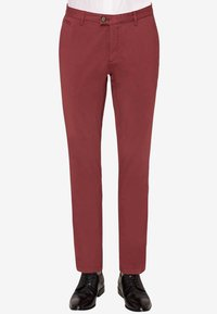 Carl Gross - RENE - Suit trousers - red - 0