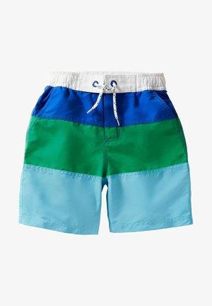 Swimming shorts - meerblau/baumgrün