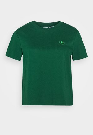 BELLISTA SPORTS INSPIRED SHORT SLEEVE TEE - Print T-shirt - dark green