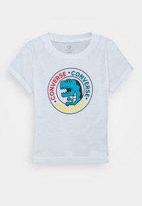Converse - DINO WORDMARK TEE - Print T-shirt - white - 0