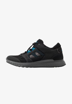 EXOSTRIDE  - Hiking shoes - black/olympian blue