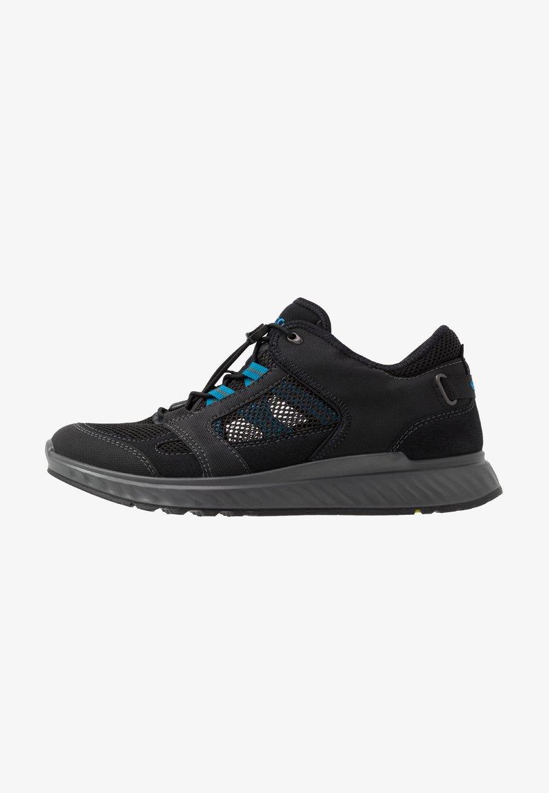 ECCO - EXOSTRIDE  - Hiking shoes - black/olympian blue