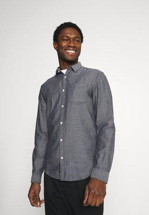 Shirt - navy/white