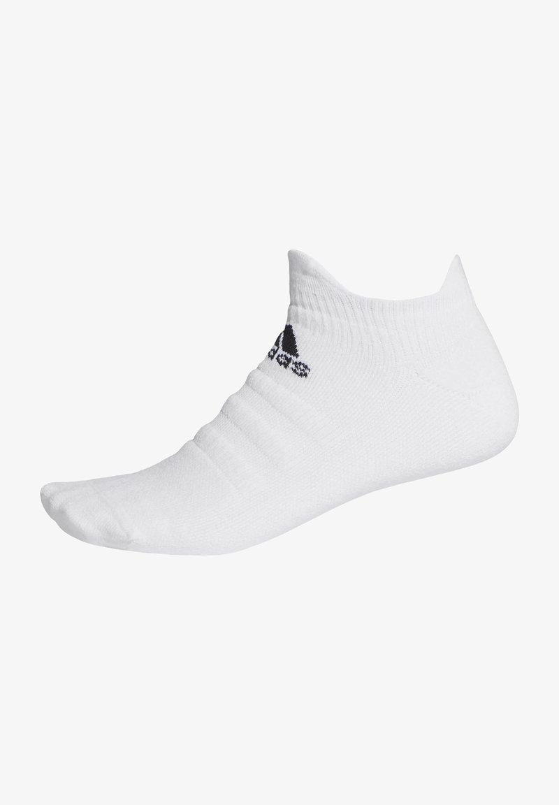 adidas Performance - ALPHASKIN LOW SOCKS - Trainer socks - white