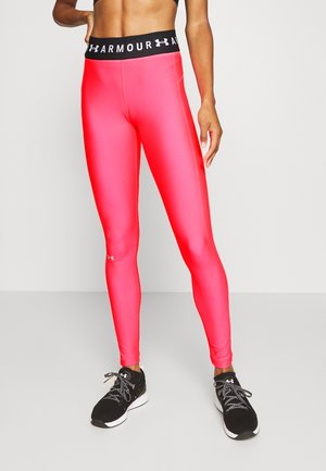 LEGGING BRANDED - Collants - cerise