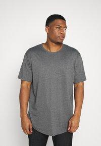 Only & Sons - ONSMATT LONGY TEE 7 PACK  - Basic T-shirt - black/white /forest - 1