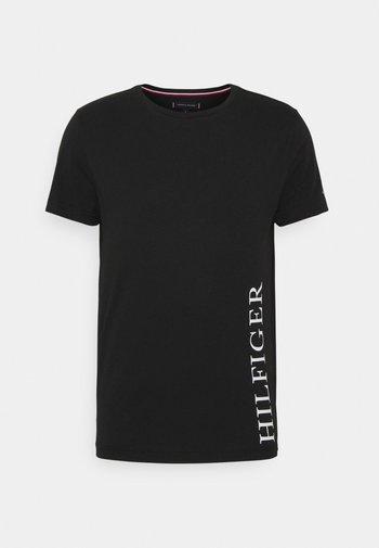 SMALL LOGO TEE - T-shirt med print - black