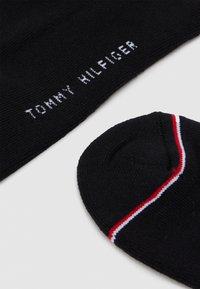 Tommy Hilfiger - MEN ICONIC SNEAKER 2 PACK - Chaussettes - black - 1