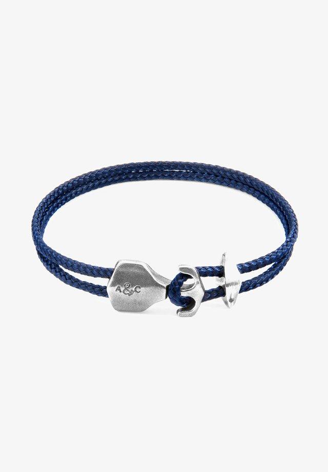 DELTA ANCHOR - Armband - navy blue