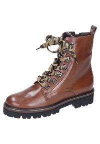 Maripé - Lace-up ankle boots - cognac - 1