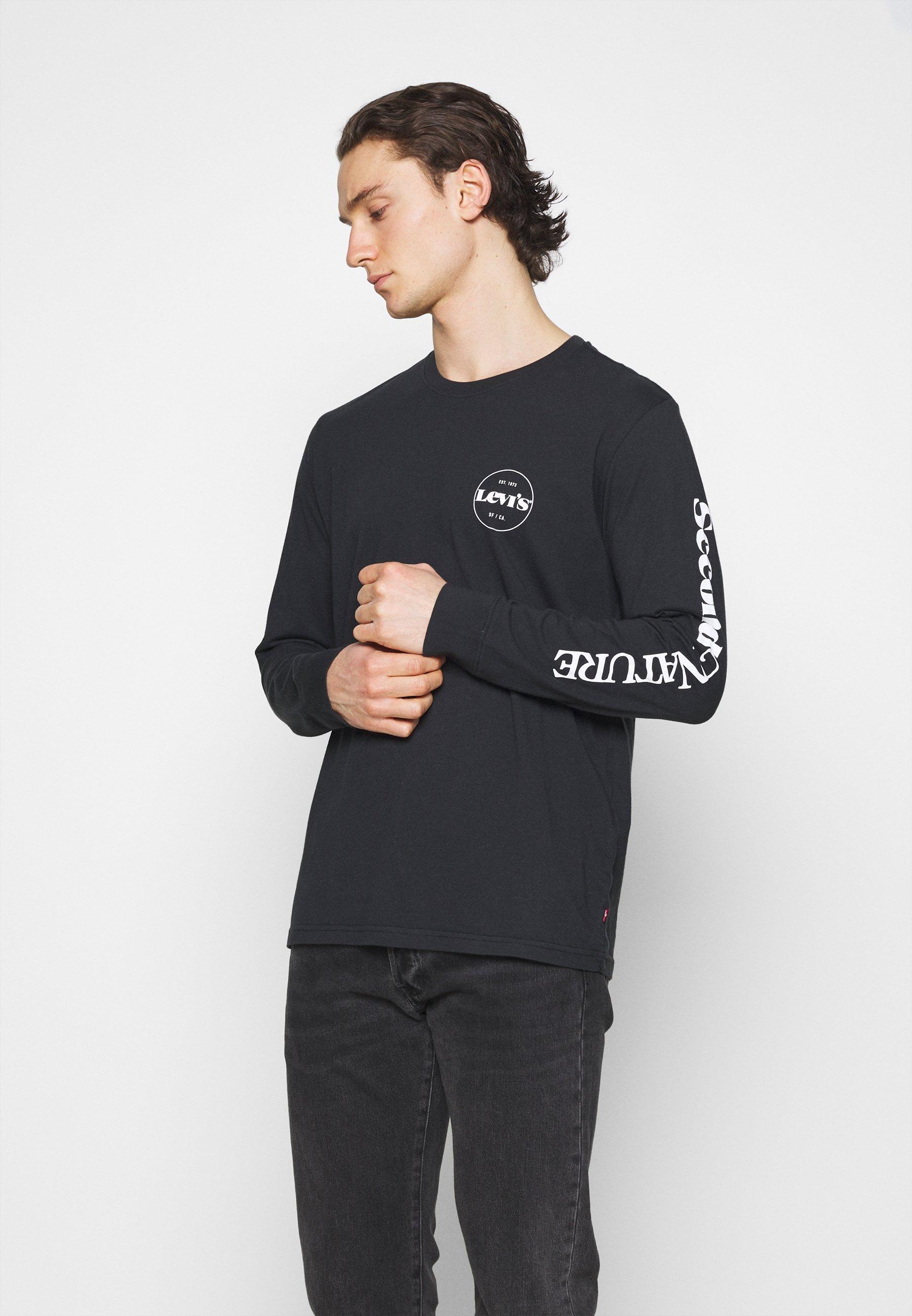 Men GRAPHIC TEE UNISEX - Long sleeved top