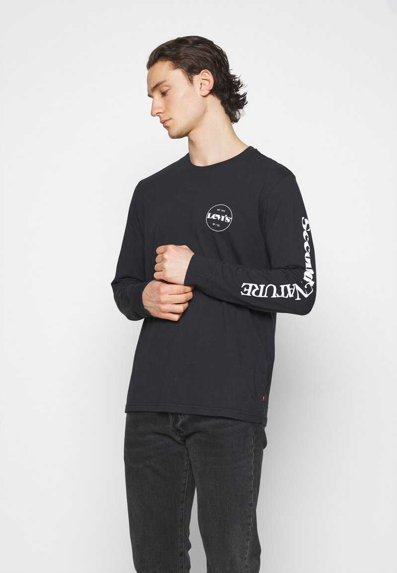 Levi's® - GRAPHIC TEE UNISEX - Long sleeved top - blacks