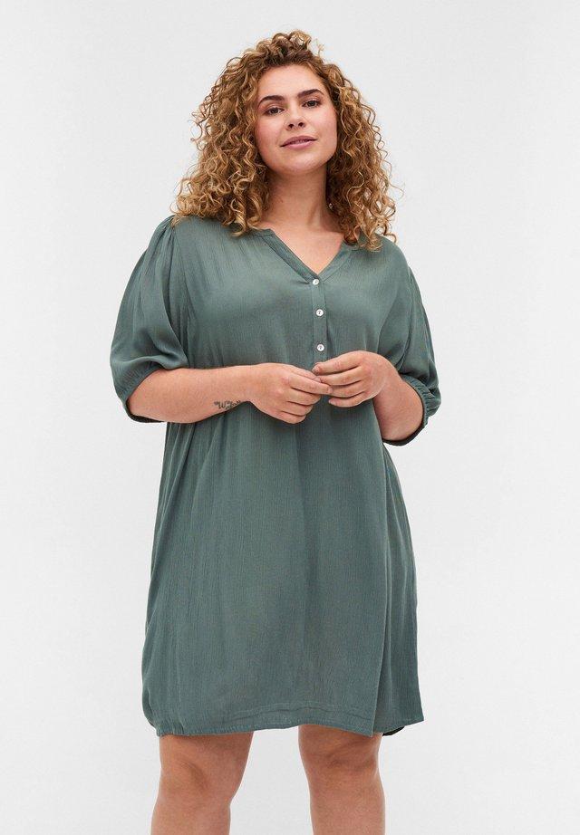 Tunic - balsam green