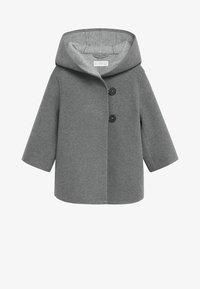 Mango - JAS MET CAPUCHON EN KNOPEN - Short coat - grijs - 0