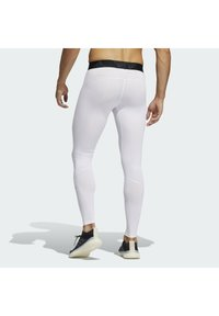 adidas Performance - TURF LONG TIGHT PRIMEGREEN TECHFIT WORKOUT COMPRESSION LEGGINGS - Leggings - white - 1