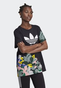 adidas Originals - HER STUDIO LONDON LOOSE T-SHIRT - T-shirts med print - black - 3