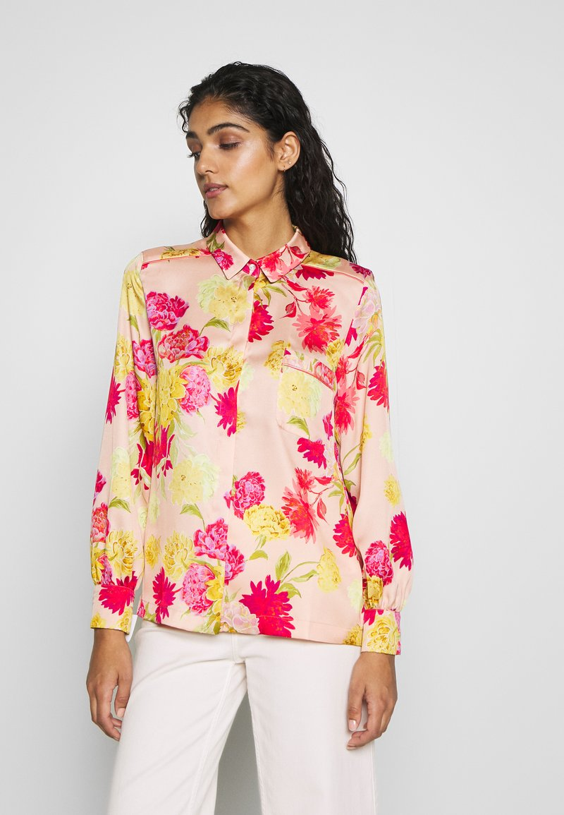 iBlues - VARIETY - Button-down blouse - powder