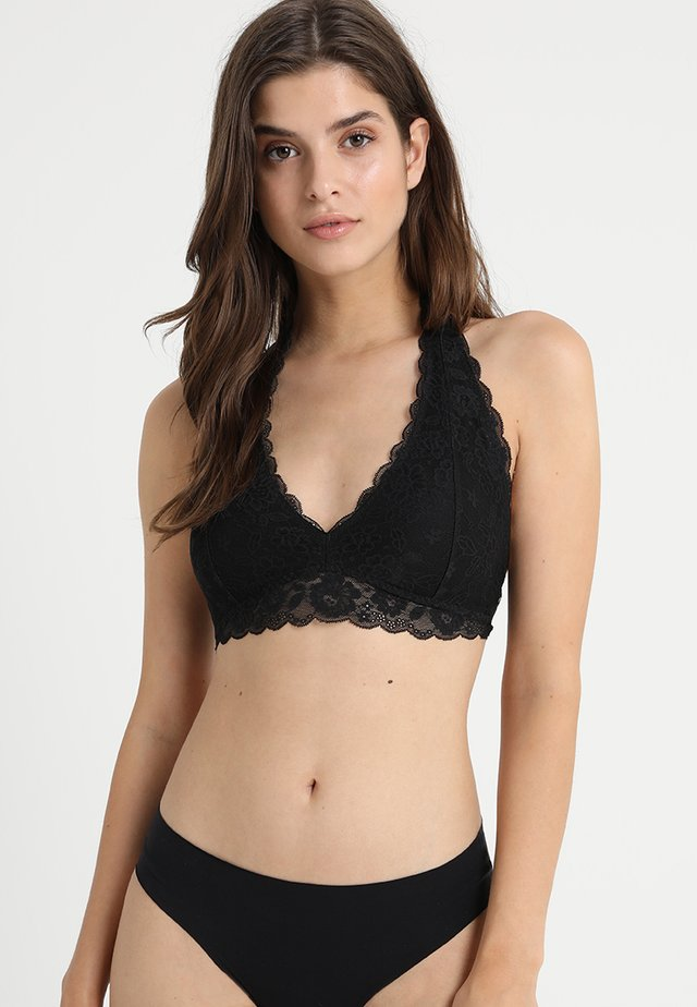 CORE HALTER - Triangel BH - black