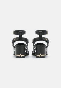 ASRA - JUSTINE - Sandals - black - 3