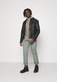 Wrangler - TEXAS - Straight leg jeans - wreath green - 1