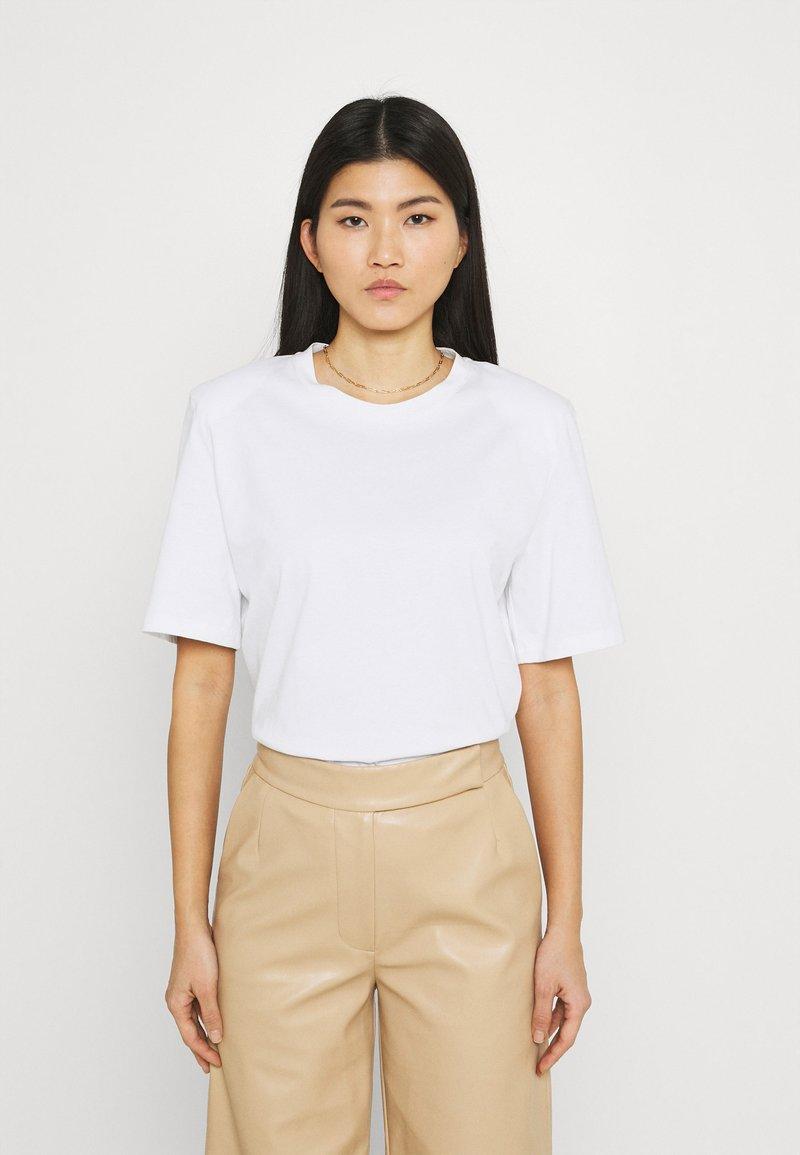 Stylein - JENNA - Jednoduché triko - white