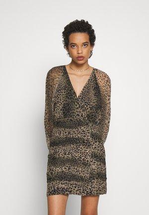 NEW LIGHT MINI DRESS - Denní šaty - black