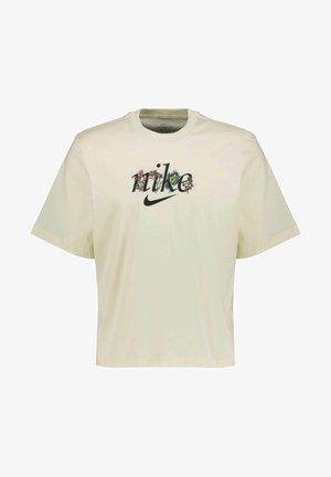 BOXY NATURE - T-shirt print - creme