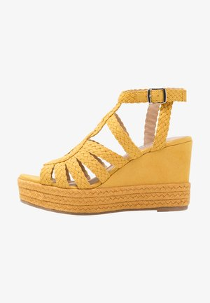 High Heel Sandalette - old yellow