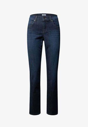 Straight leg jeans - marineblau