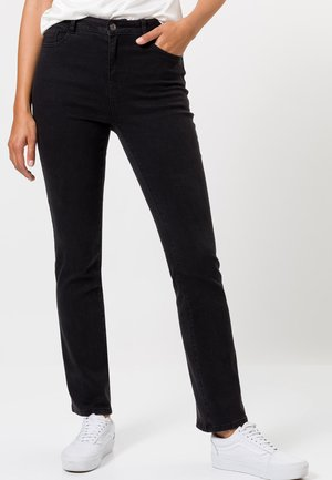 Bootcut jeans - black wash out